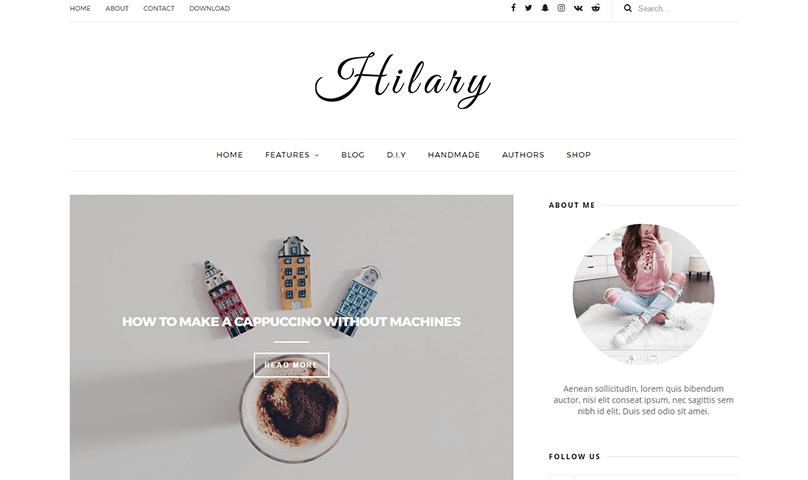 jasa blog personal murah meriah desain bagus
