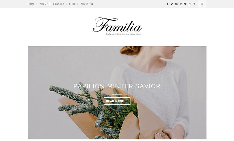 template personal blogger responsive premium